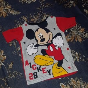 4/$15 Size 24-2T Mickey Mouse t-shirt